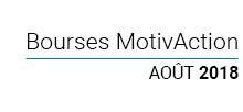 bourses Motivaction 2018