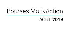 bourses Motivaction 2019