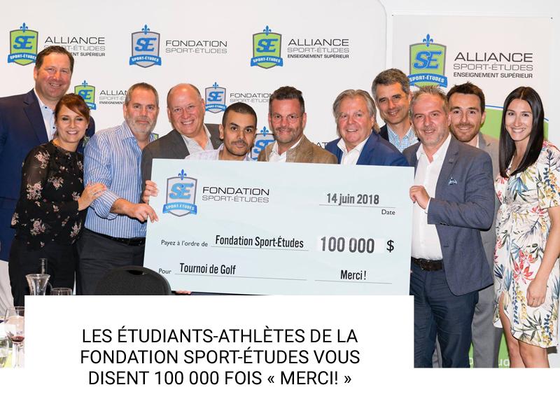 Tournoi de golf Fondation Sport-Études