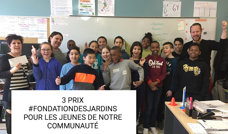 3 PRIX #FONDATIONDESJARDINS POUR LES JEUNES DE NOTRE COMMUNAUTÉ